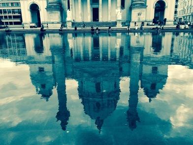 Karlskirche Reflection
